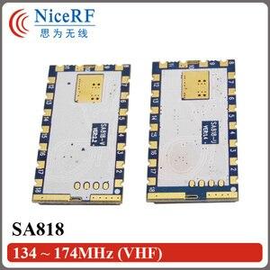 Image 5 - 2 יח\חבילה SA818 חדש דור RDA1846S שבב VHF 134 ~ 174 MHz/UHF 400 480 MHz 1 W 30dBm אנלוגי ווקי טוקי מודול