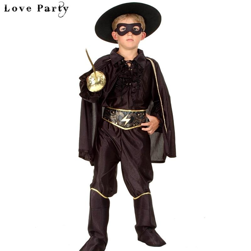 Halloween Jongenskleding Sets Masquerade Knappe Vampire Bandit Super - Carnavalskostuums