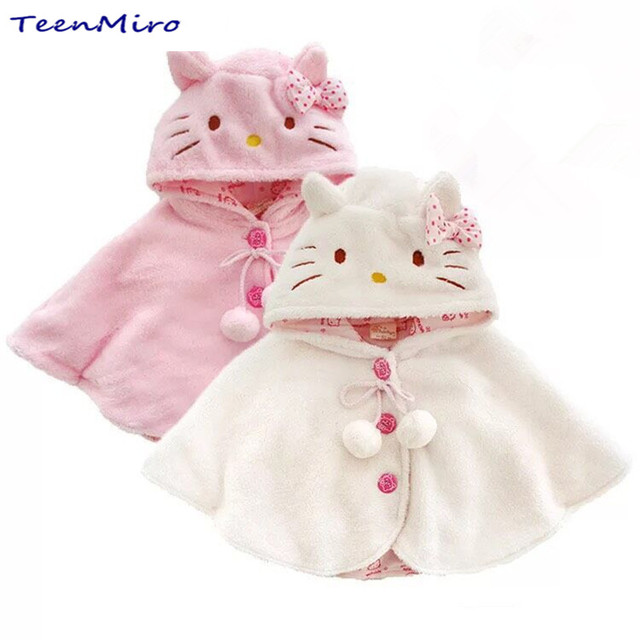 Baby Girl Clothes Kids Baby Poncho Cloak Children Coat Infant ...