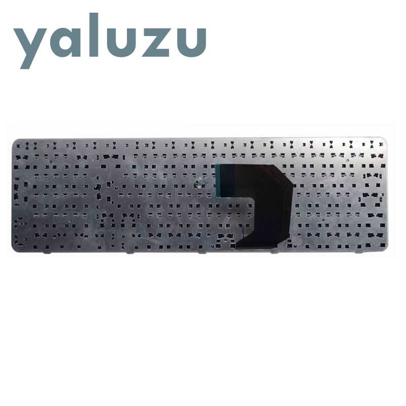 YALUZU ใหม่สำหรับ HP Pavilion G7-1000 G7-1100 G7-1200 G7-1300 G7 G7T R18 G7-1001 G7-1222 US แป้นพิมพ์แล็ปท็อปสีดำกรอบ UI