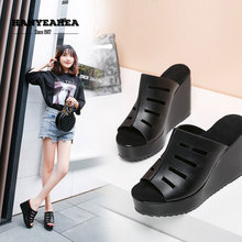 Hollow Summer Slippers Casual Fashionable Shoes Lady Classic Personality Platform