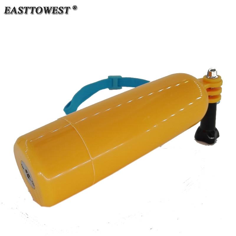 Easttowest Aller pro Poche Floaty Main Grip Wtih 1/4 Vis Trou Pour Go pro Hero 6 5 4 3 + Xiaomi Yi Sjcam Action caméra Sj4000