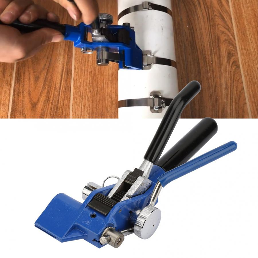 Stainless Steel Cable Tie Gun Heavy Duty Cable Zip Tie Tool Tie Fastening cutting tool Tie
