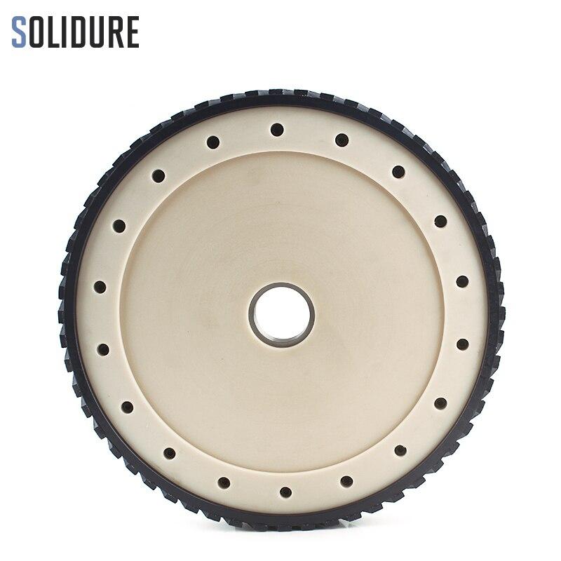 Segment de 12 pouces 300mm de large 25mm avec arbre 50/60mm disque de fraisage diamant à noyau silencieux pour la surface de meulage des dalles de granit