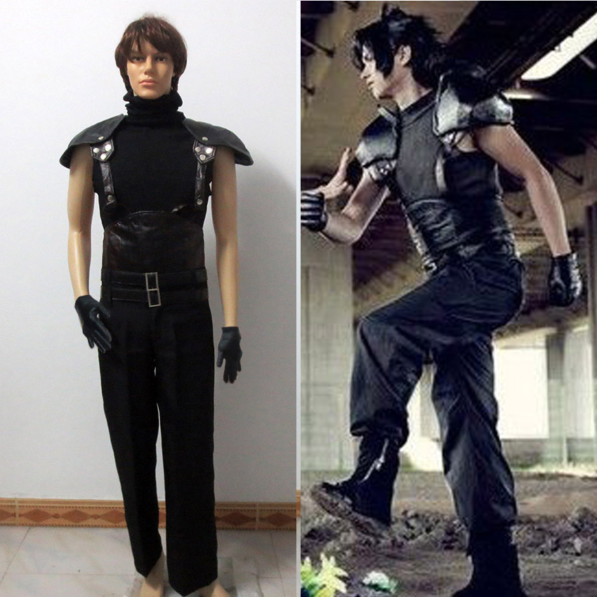 Final Fantasy VII 7 Crisis Core Zack Fair Cosplay Costume Halloween clothing