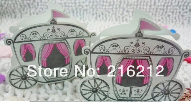 Carriage Favor Box favour Wedding box pumpkin Carriage wedding box ...