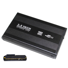 Laptop PC Super Speed 3.5 Inch USB 2.0 HDD Enclosure Case Hard disk Cartridge Case Plug and Play Hot Swappable