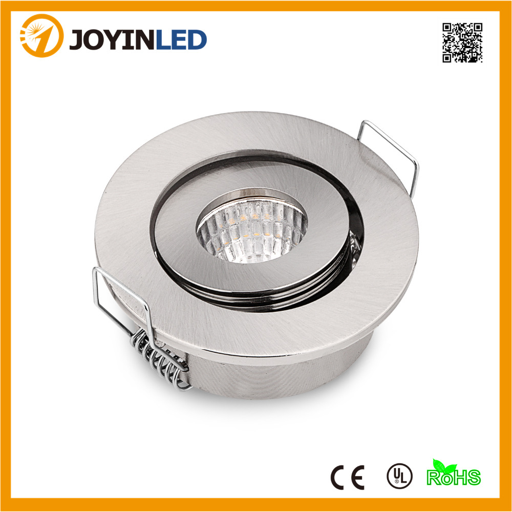 Factory Price 110V Or 220V Dimmable 3W Cob Led Downlights 50mm Small Recessed Ceiling Mini Indoor Lights Indoor Led Down Lights