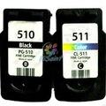 Картридж для Canon PIXMA MP240 MP250 MP270 MP280 MP480 MP490 MX320 MX350 принтер для PG 510 CL 511 для canon510 511