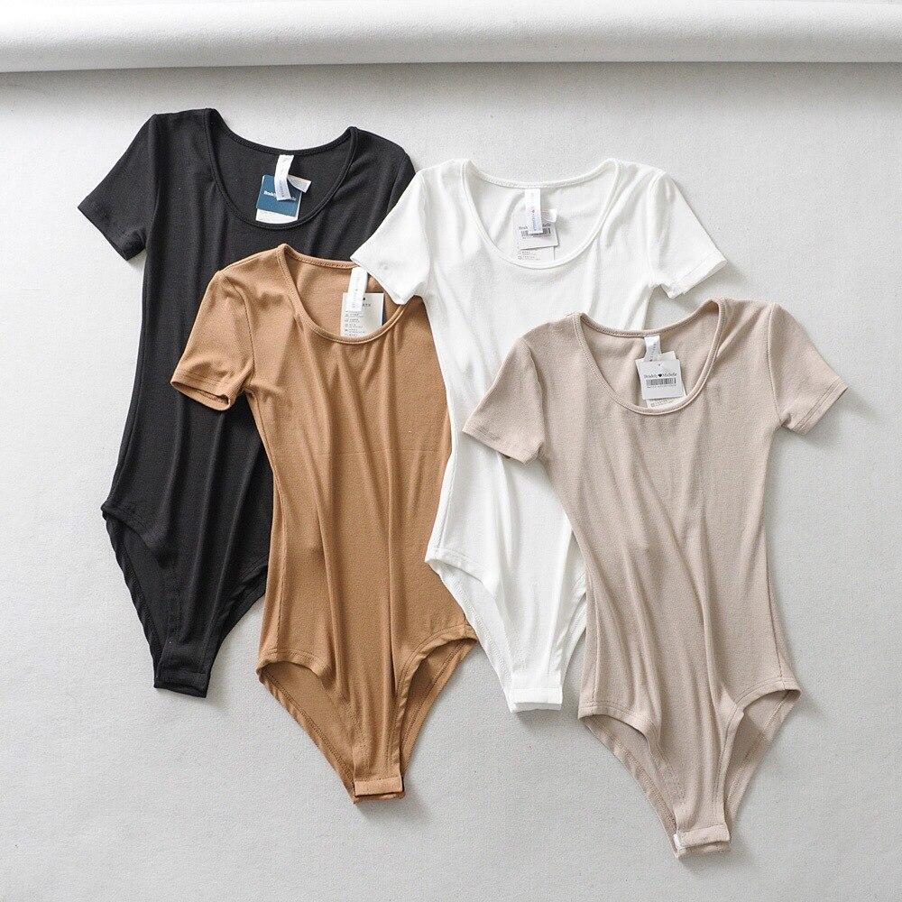 Women Basic Bodysuit