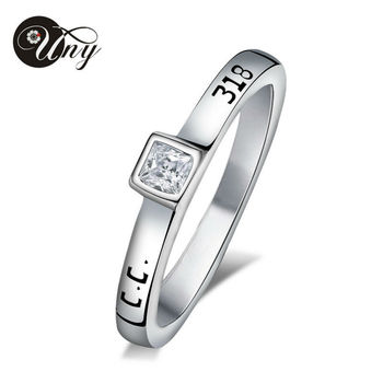 UNY Ring 925 Silver Mother's Personalized Rings Anniversary Gift Birthstone Ring Custom Wedding Engagement BFF Promise DIY Rings
