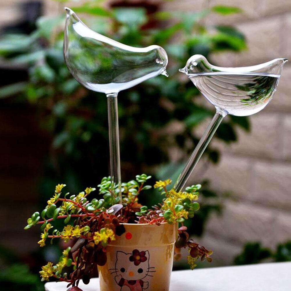 2 Pcs Self-Watering Plant Glass Bulbs