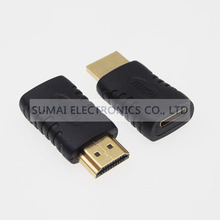 Gold Plated Mini HDMI adapter socket A male to C female HDMI Jack