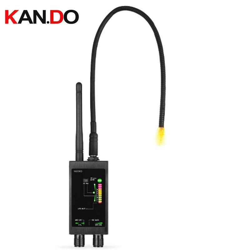 Caché Aimant capteur détecteur + 1 mhz-12 ghz espion Sans Fil Détecteurs De Signaux RF Bug Détecteur scanner espion GPS tracker Finder