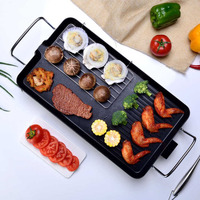 flat pan restaurant equipment grill electric smokeless hot dog electric griddle flat pan smokeless grill chicken elctric