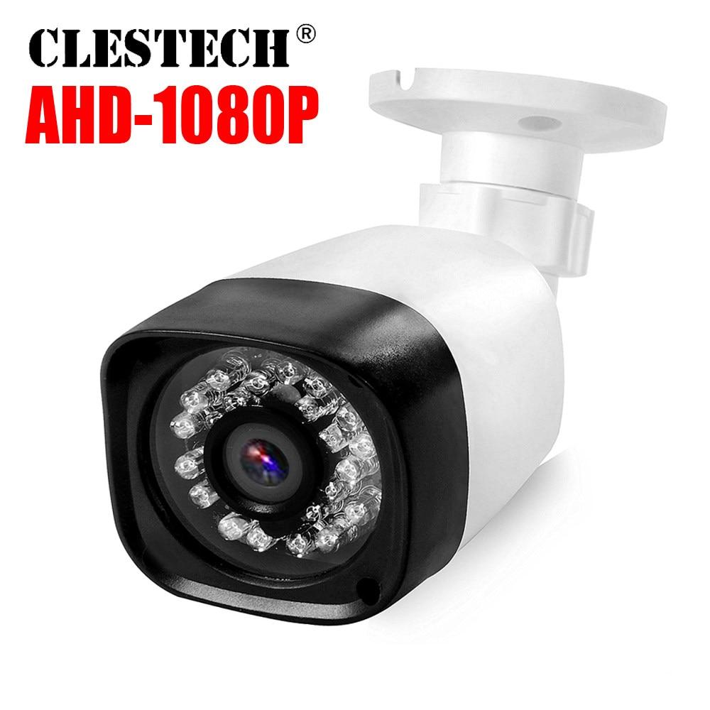 New Case Sony IMX326 Sensor AHD CCTV Camera Three Array Leds 1080P 5MP  Metal Case Outdoor AHD-H Surveillance Waterproof IP66