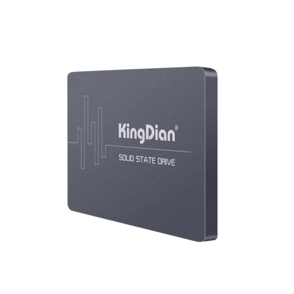 KingDian nueva llegada S400 120GB 2,5 ''SSD SATA3 disco duro de estado sólido 120GB 128G