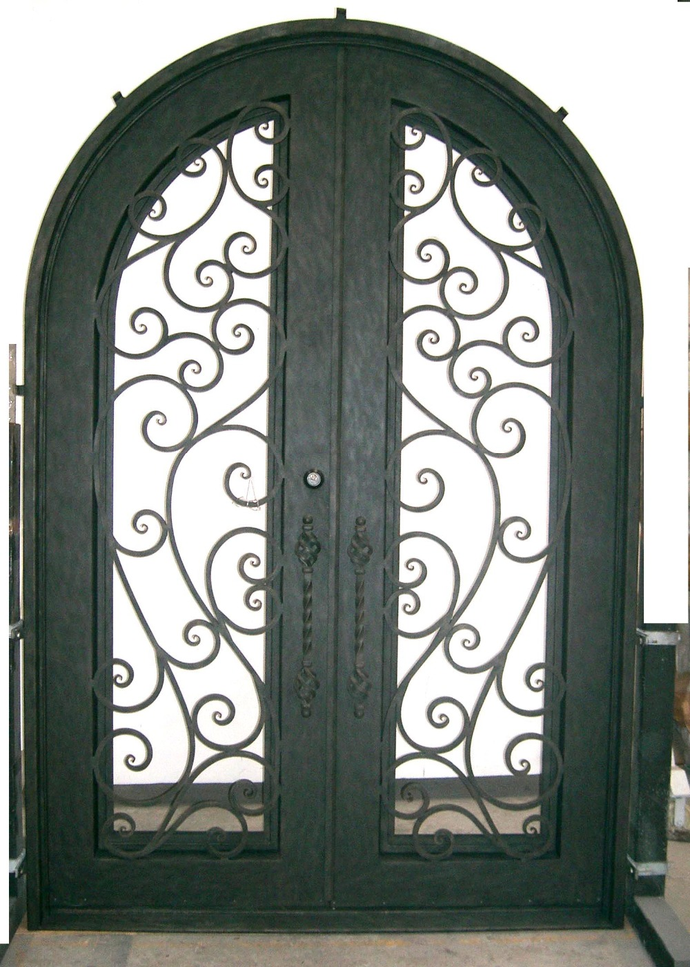 Hench 100% Steel Metal Iron  Big Entry Doors