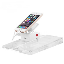 10pcs/lot Alarm Charging Security Cell Phone Mobile Display Stand with price tag base