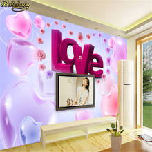 love Modern Luxury wallpaper for living room wall mural papel de parede 3d photo wallpaper contact paper bedroom wall paper roll