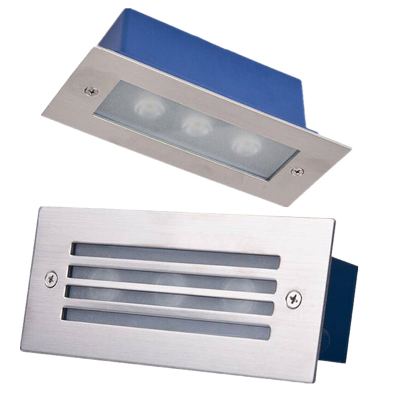 2w Led Stair Light Recessed