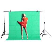 CY Лидер продаж 1.6×2 м зеленый хлопок-загрязнителей текстиль муслин фото Фоны фотостудия Экран Chromakey фон