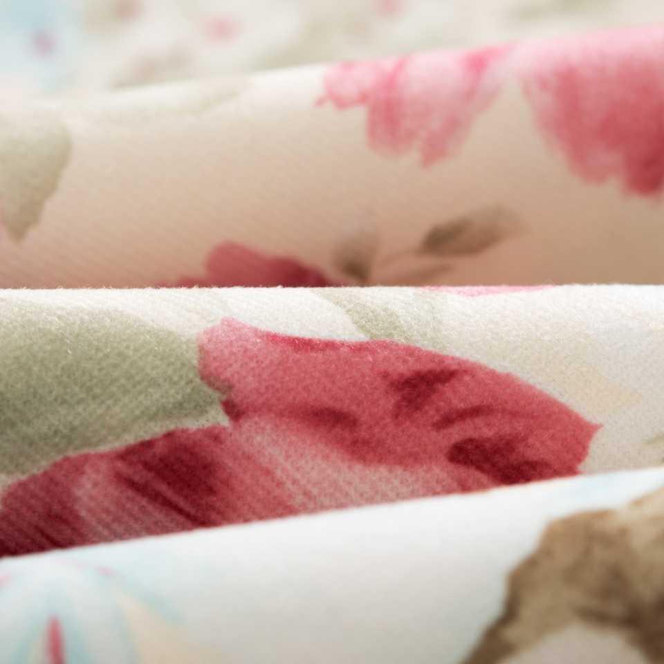 Двухсторонняя Акварельная Подушка с цветами, милый домашний хлопковый розовый домашний декоративный с рисунком, наволочка