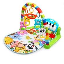 Детский игровой коврик, игрушки, детский ползающий музыкальный игровой коврик, развивающий коврик с клавиатурой пианино, коврик для ребенка, обучающая игрушка