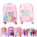 18 inch Cheap travel suitcases  luggage for gilrs and children luggage travel Suitcase Cartoon trolley Traveller Pull Rod Trunk