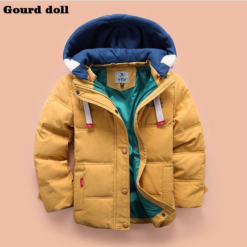 New clothes fashion winter Children boys jacket Outerwear Coat jacket for boy 3 Colors Cotton Christmas