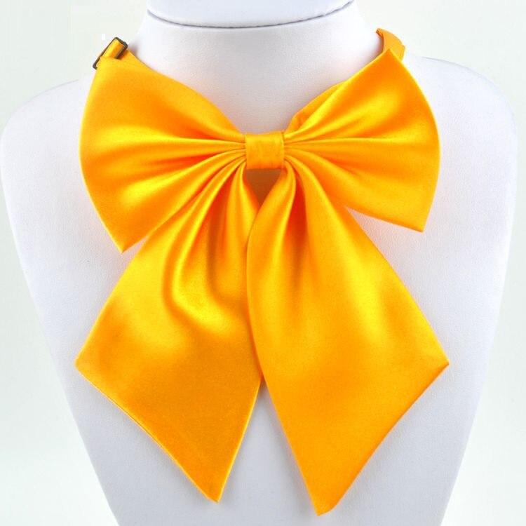 Mujeres Pajaritas Comerciales Color Sólido Matrimonio Corbata Para - Disfraces - foto 5