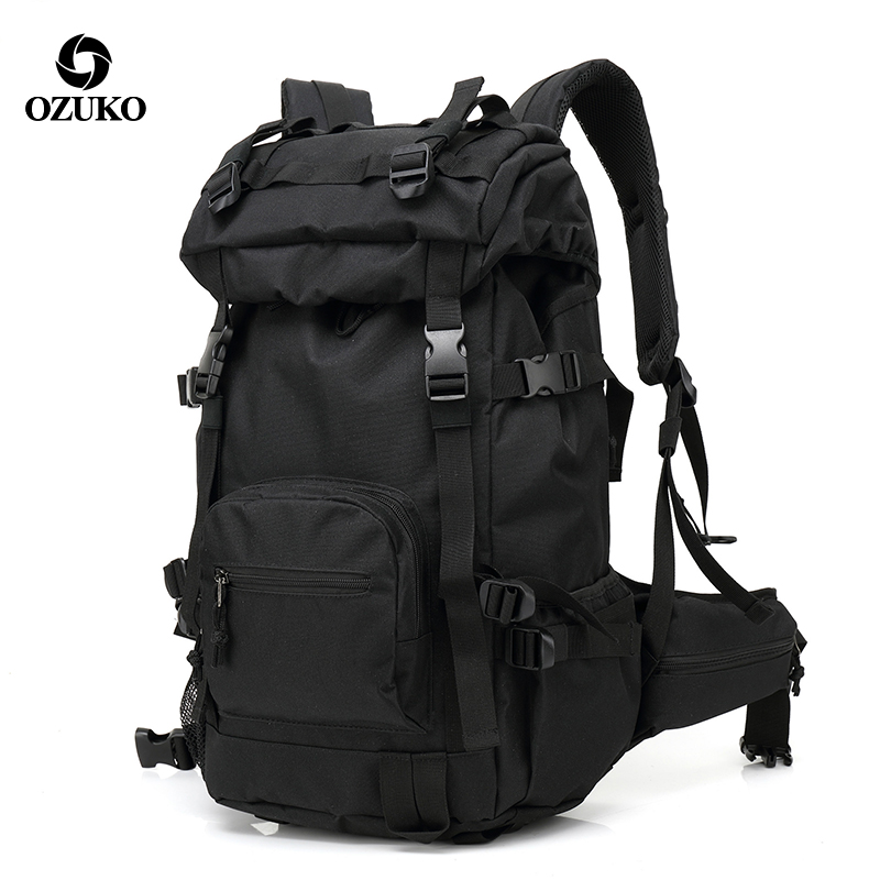 Ozuko Outdoor Camouflage Men 15 6 Laptop Backpack Trip Travel Waterproof Back Pack Hiking Backpacks Women