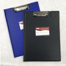 1 шт. A4 кожаный складной буфер обмена офисный держатель для документов папка-зажим для документов доска r20