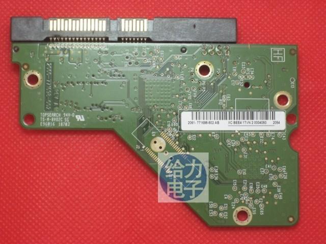100% Original Good Test PCB Logic Board 2060-771698-002(004) REV A/P1/P2 For WD 3.5 SATA Hard Drive Repair Data Recover