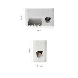 Image 4 - חם חדש צינור אוטומטי אוטומטי מסחטת משחת שיניים Dispenser ידיים משלוח לסחוט G604