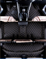 Top quality! Custom special car floor mats for Mitsubishi Pajero Sport 7 seats 2014 2008 durable carpets for Pajero Sport 2011