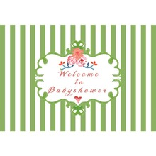 Laeacco Colorful Stripes Flowers Baby Children Birthday Party Photography Background Customized Backdrops For Photo Studio