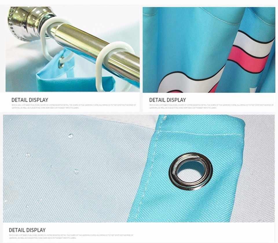 VOZRO Produttore Personalizzata Tenda Della Doccia Bagno Supporta Tutti I Modelli Bape Douchegordijn Pascoa Cortina Box Miniaturas PinUp