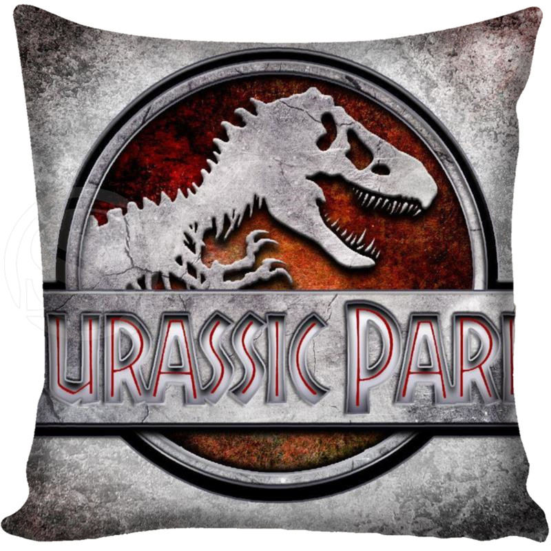 G0309 Top Sale Throw Pillow Case adventure Movie Jurassic Park Bestative pillow Cover image