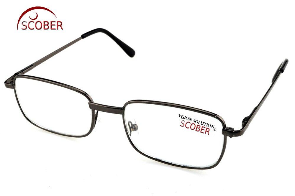 = Scober Природный кристалл Очки для чтения для женщин =! Две пары! Полный обод высококачественной легированной Рамки Для мужчин Для женщин очки... ...