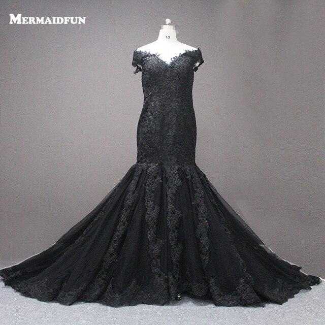 2017 Stunning Mermaid Cap Sleeve Floor Length Court Train Lace Wedding Dresses For Black Girl Robe