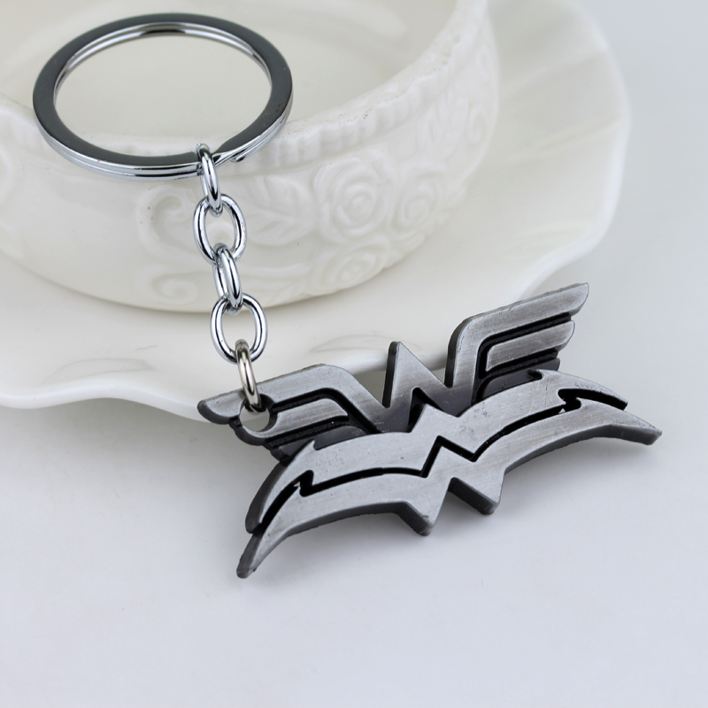 High Quality Wonder Woman Keychains Vintage Fashion Movie Jewelry Key Rings Holder for Men and Women