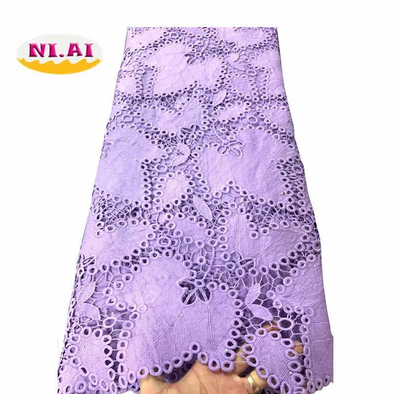 Желтый Африканский шнур кружевной ткани молочный шелк водорастворимый платье кружево камни 2019 высокое качество нигерийский гипюр кружевной ткани NI1812