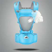 Baby CarrierNew Hipseat For Newborn & Prevent O-Type Legs 6 In 1 Carry Style Loading Bear 20Kg Ergonomic Baby Carriers Kid Sling стоимость