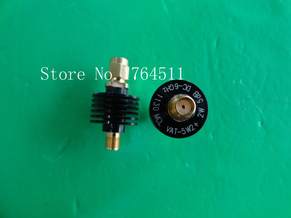 [BELLA] MINI VAT-5W2+ DC-6GHz 5dB 5W SMA coaxial fixed attenuator  –5PCS/LOT