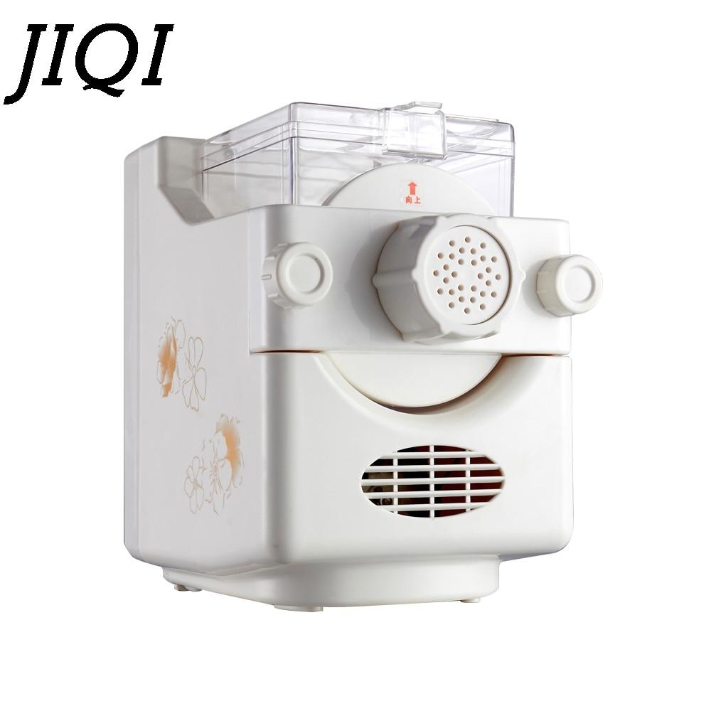 JIQI Noodle maker Household automatic electric dumpling wrapper pressing machine multifunctional mini dough blender processor EU high quality household manual hand dumpling maker mini press dough jiaozi momo making machine