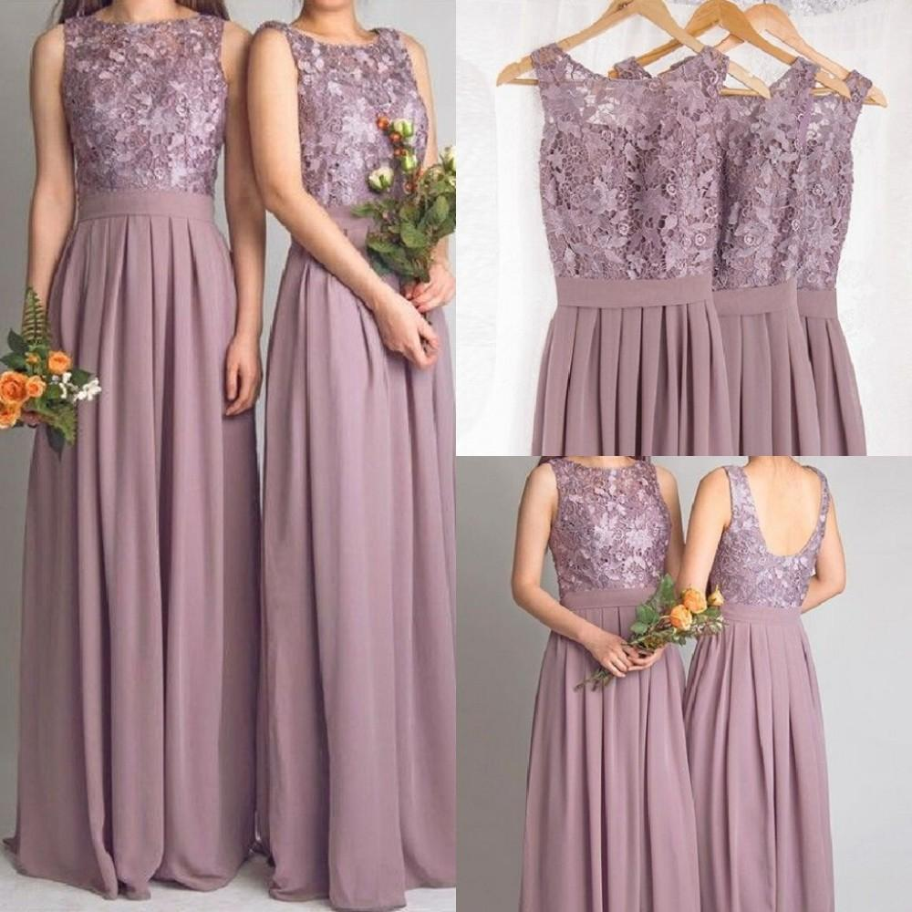 Cheap lace bridesmaid dresses long 2017 new designer chiffon beach cheap lace bridesmaid dresses long 2017 new designer chiffon beach garden wedding party formal junior vestido madrinha under 100 in bridesmaid dresses from ombrellifo Images