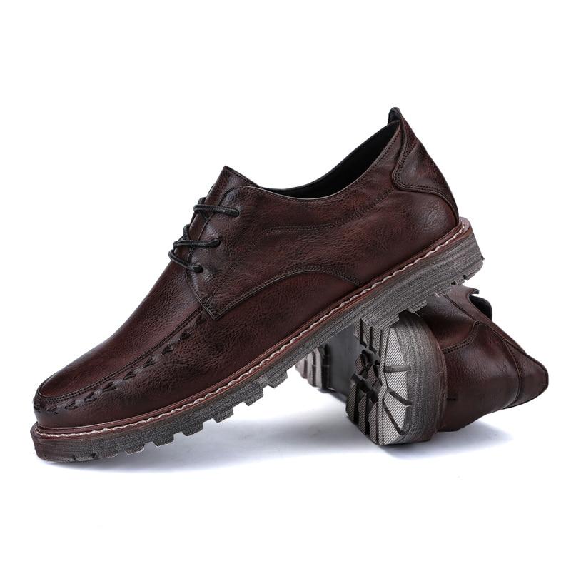 2018 пролетта мъже бизнес марка - Мъжки обувки - Снимка 3