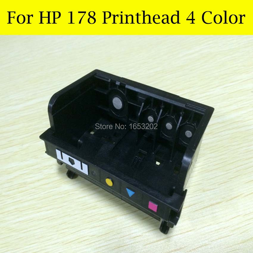 The cheapest 178 printer head 4 Color  For HP printer B110A  B210A CN216C CN245C CD035C Q8444C For HP178 printerhead stp411f 256 printerhead for seiko low price thermal printerhead printer accessories print head printing part printer mechanism