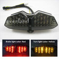 New Motorcycle LED Turn Signal Tail Light for Yamaha YZF R6 03 04 05 Smoke Wholesale C10